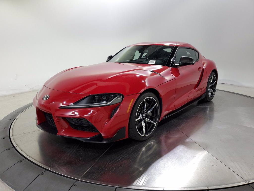 new 2021 toyota gr supra premium launch edition rwd car