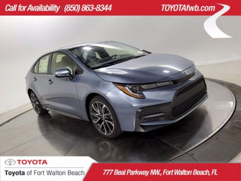 New 2020 Toyota Corolla SE FWD Car