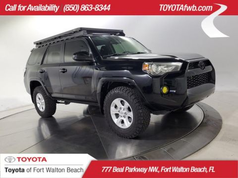 Pre-Owned 2017 Toyota 4Runner SR5 4X4 4WD SUV